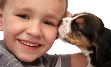 The Benefits of Pets for Children: Win All-Natural Pet Products!