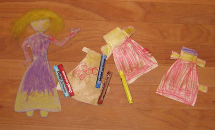Make Paper Dolls From Recycled Materials