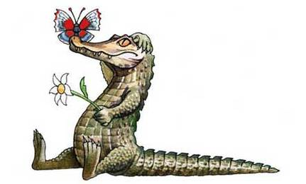 The Crocodile and the Butterfly