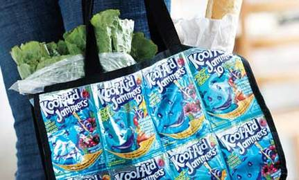 Make a Super Eco-Friendly Tote Bag From Juice Packs