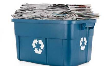 N is for Newspapers – Recycle and Consider Alternatives