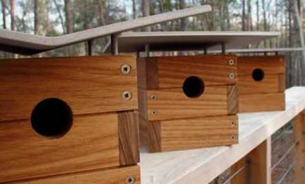 10 Stylish And Safe Modern Birdhouses | Care2 Healthy Living