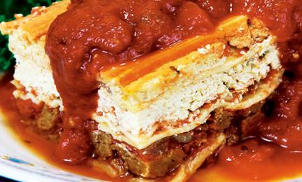 Italian Lasagna Vegan-Style!