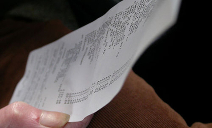 BPA Found on Cash Register Receipts
