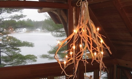 diy rustic chandeliers. DIY  Rustic Chandelier Care2 Healthy Living