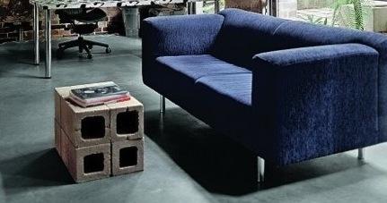 DIY: Concrete Block Tables