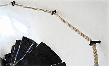 DIY: Stair Rope Banisters