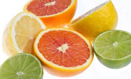 Make Candles from Citrus Fruits