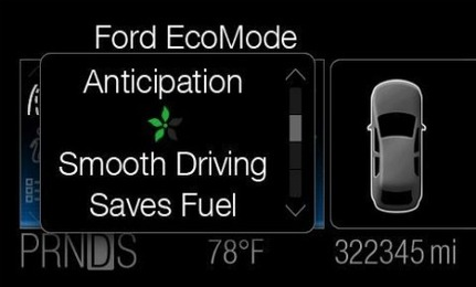 EcoMode Software Teaches Green Driving Tips