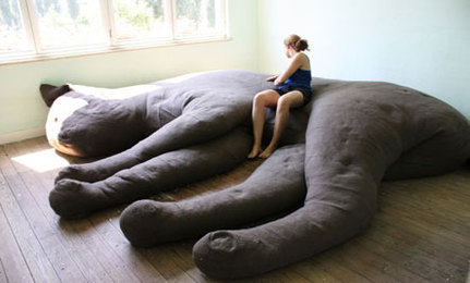 Kitty Couch: Animal-Inspired Eco-D�cor