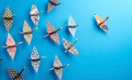 Make Paper Cranes for Japan