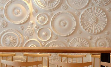 DIY: Ceiling Medallions as Decor