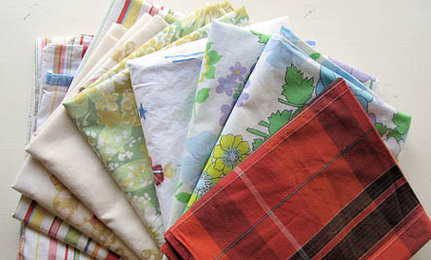 5 Craft Projects for Vintage Pillowcases