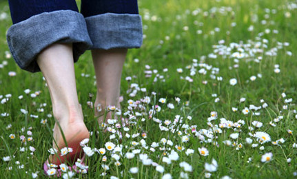 The Healing Benefits of Walking Barefoot