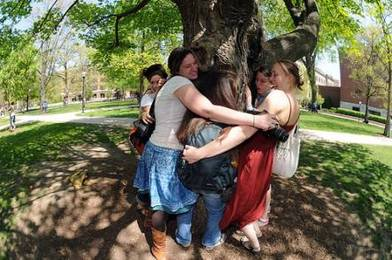 The Healing Benefits of Hugging a Tree