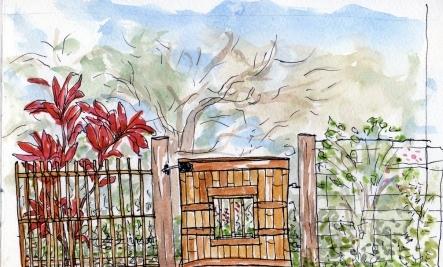 An Artist�s Home Inspires Her Art