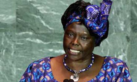 Honoring Nobel Laureate Wangari Maathai