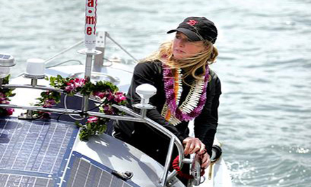 How One Woman Is Striving To Save The Oceans She's Rowed