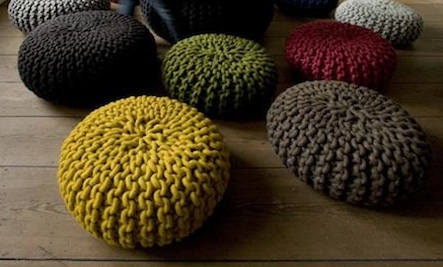Inspiration for DIY Crocheted Home Accents