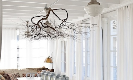 Branch Decor organic accents: branches used as decor | care2 healthy living