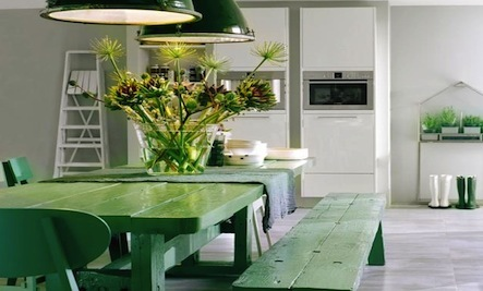 Green With Envy: Inspiring Interior Color