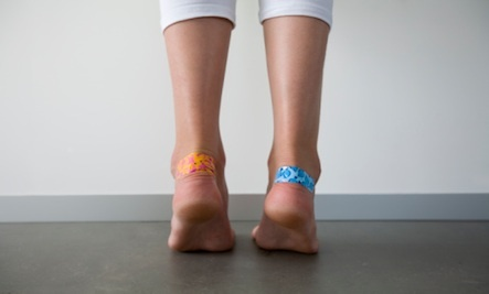 Teen foot photo