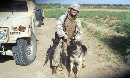 Combat Dog to Reunite with Marine