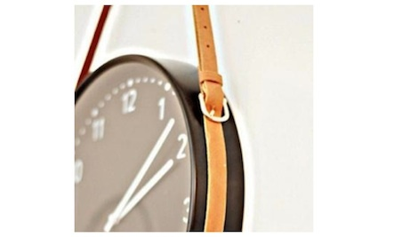 A Belt for What? A Unique DIY Wall Clock