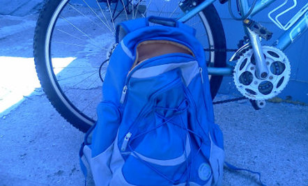 This Backpack Used To Be 40 Plastic Bottles