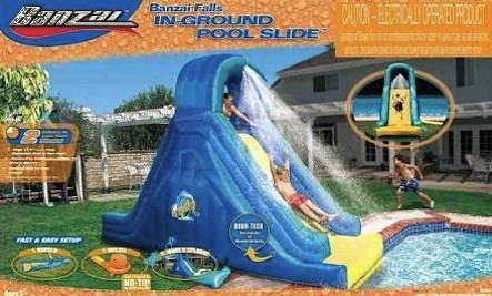 Mom Dies in Pool Accident: Pool Slide Recalled