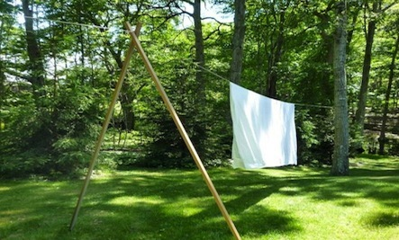A DIY Clothes Line