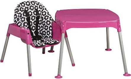 Falls Prompt Convertible High Chair Recall