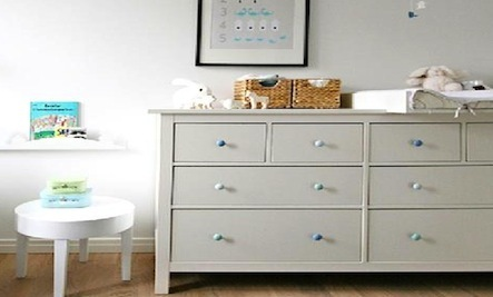 Brighten Up a Children's Room with Colored Knobs