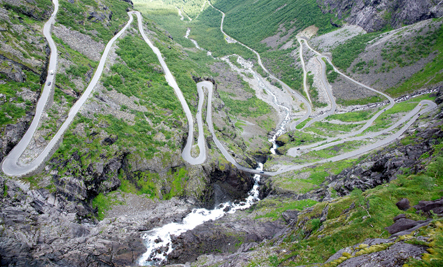 7 of the World's Scariest Roads (Slideshow)
