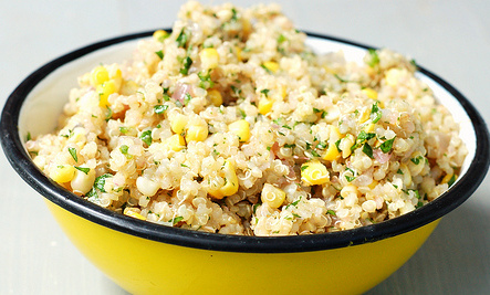 Quinoa, Sweet Corn, Lime & Jalape�o Salad