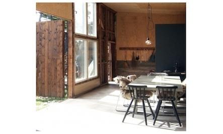 Garage-Turned-Summer House in Sweden