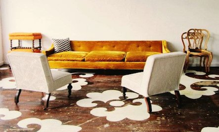 Do-It-Yourself: Floor Stencils