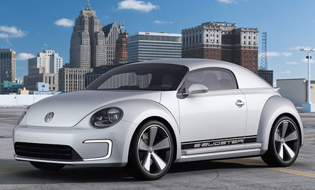 Classic VW Beetle Gets Electric Makeover