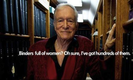 He's Got Binders Full of Women