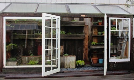 Make A Potting Shed Out of Scraps