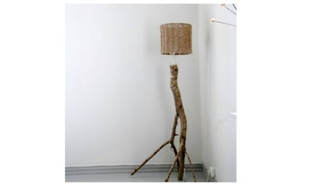 Build Your Own Branch Floor Lamp