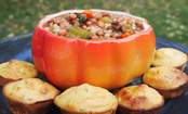 Hoppin' John Soup & Cornbread Cuties