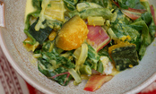 Quick Coconut Vegetable Curry