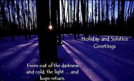Holiday and Solstice Greetings