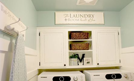5 DIY Laundry Room Storage Ideas