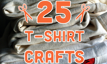 25 Ways to Upcycle Old T-Shirts