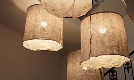 Make Your Own Italian-Style Rustic Linen Lamp