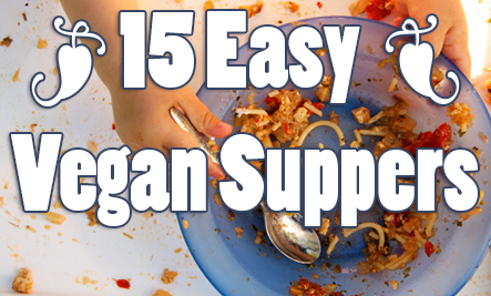 Vegan healthy recipes easy