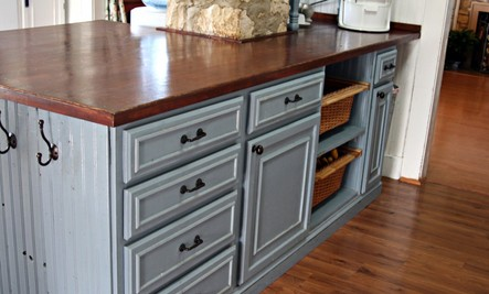 5 DIY Recycled Kitchen Countertop Ideas