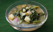 Winter Spinach Soup